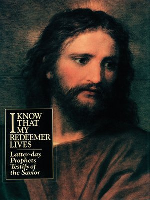 cover image of I Know That My Redeemer Lives