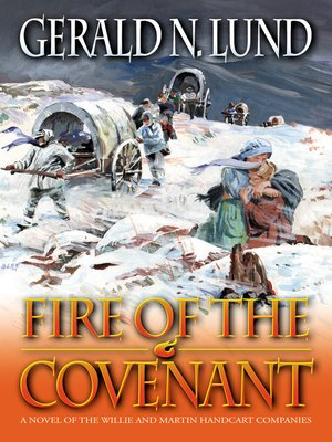 cover image of Fire of the Covenant