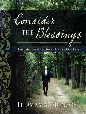 cover image of Consider the Blessings