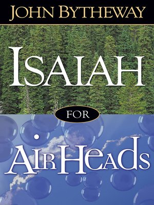 cover image of Isaiah for Airheads