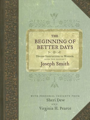 cover image of The Beginning of Better Days