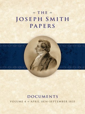 cover image of The Joseph Smith Papers: Documents, Volume 4