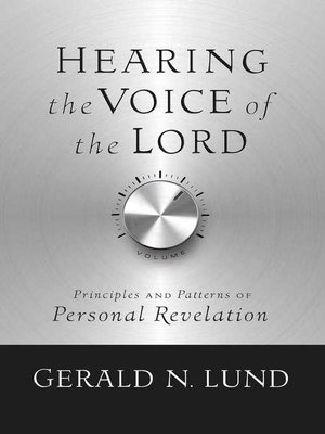 cover image of Hearing the Voice of the Lord