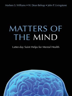 cover image of Matters of the Mind