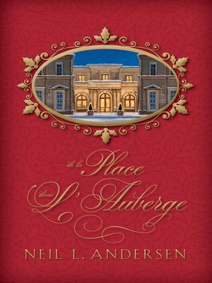 cover image of De la place dans l'auberge (Room in the Inn - French)