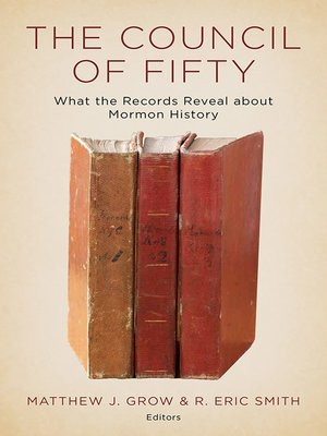 cover image of The Council of Fifty