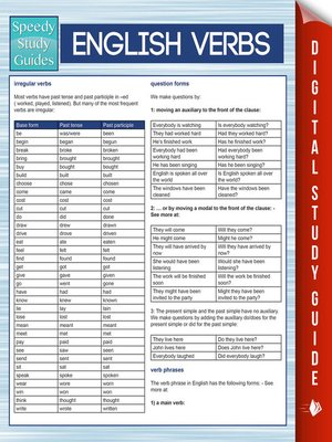 cover image of English Verbs