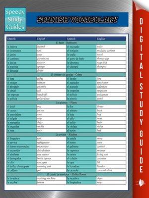 cover image of Spanish Vocabulary III