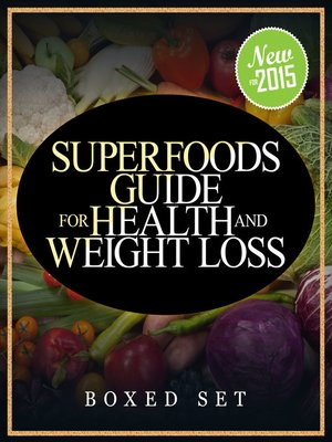 cover image of Superfoods Guide for Health and Weight Loss (Boxed Set)