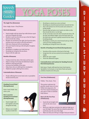 cover image of Yoga Poses