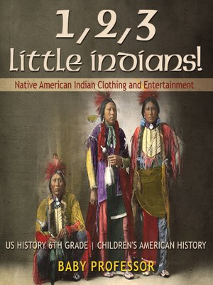 cover image of 1, 2, 3 Little Indians!: Native American Indian Clothing and Entertainment