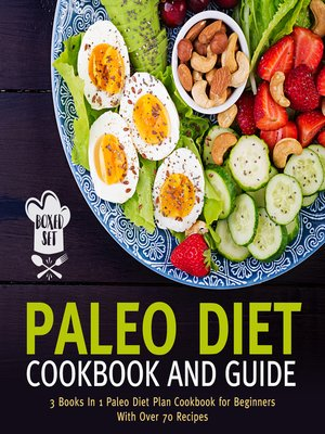 cover image of Paleo Diet Cookbook and Guide