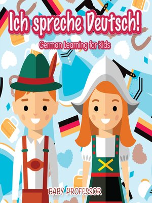 cover image of Ich spreche Deutsch!--German Learning for Kids
