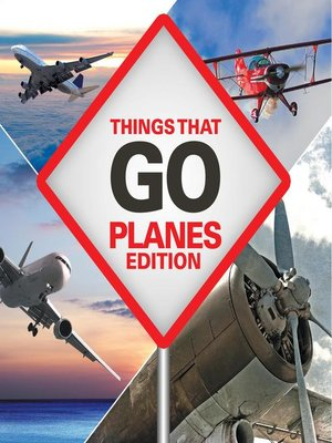 cover image of Things That Go--Planes Edition
