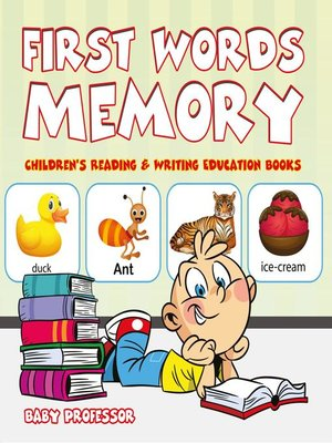 cover image of First Words Memory --Children's Reading & Writing Education Books