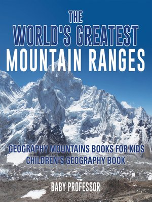 cover image of The World's Greatest Mountain Ranges