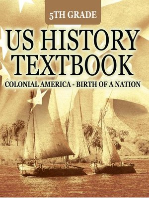 cover image of 5th Grade US History Textbook - Colonial America