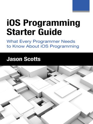 cover image of iOS Programming: Starter Guide