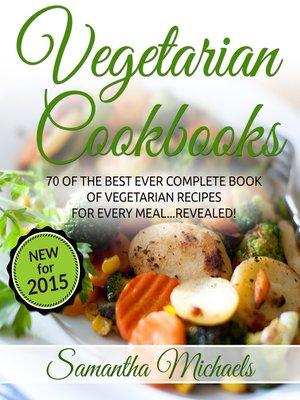 cover image of Vegetarian Cookbooks
