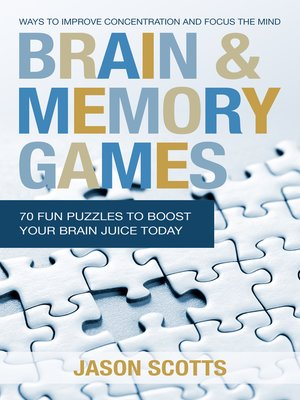 cover image of Brain and Memory Games