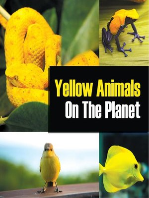 cover image of Yellow Animals On the Planet