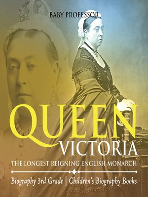 cover image of Queen Victoria --The Longest Reigning English Monarch--Biography 3rd Grade--Children's Biography Books