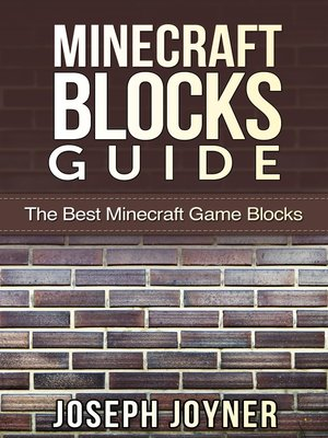 cover image of Minecraft Blocks Guide