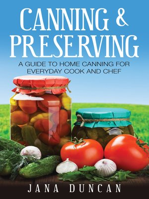 cover image of Canning And Preserving