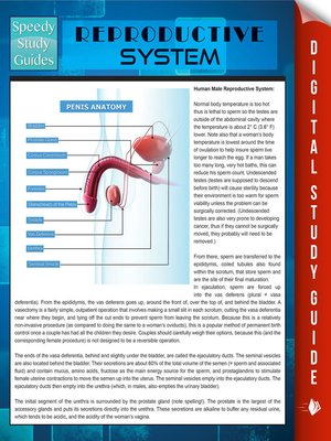 cover image of Reproductive System