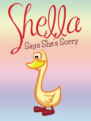 cover image of Shella Says She's Sorry