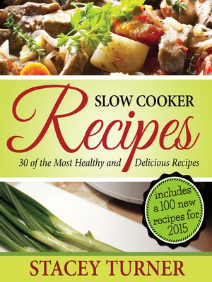 cover image of Slow Cooker Recipes
