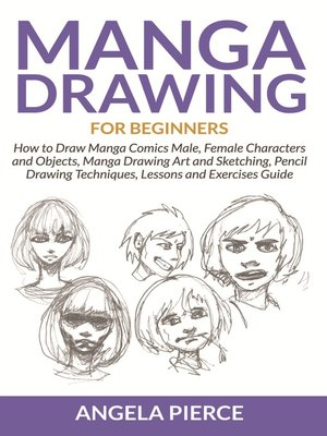 cover image of Manga Drawing For Beginners