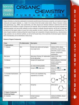 cover image of Organic Chemistry Fundamentals