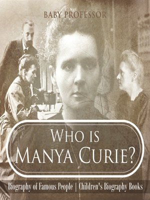 cover image of Who is Manya Curie?
