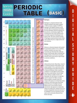 cover image of Periodic Table (Basic)