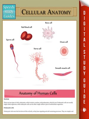 cover image of Cellular Anatomy