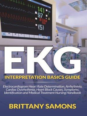 cover image of EKG Interpretation Basics Guide