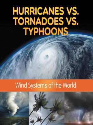 cover image of Hurricanes vs. Tornadoes vs Typhoons--Wind Systems of the World