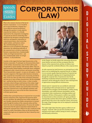 cover image of Corporations (Law)