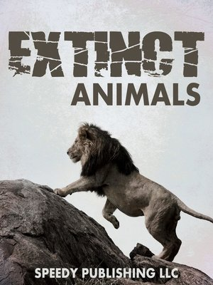 cover image of Extinct Animals