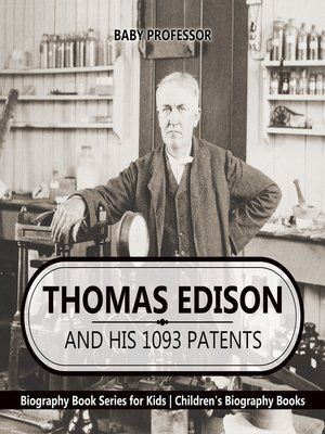 cover image of Thomas Edison and His 1093 Patents
