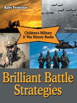 cover image of Brilliant Battle Strategies--Children's Military & War History Books