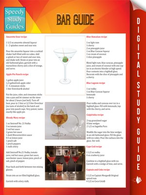 cover image of Bar Guide