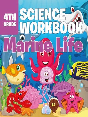 cover image of 4th Grade Science Workbook--Marine Life