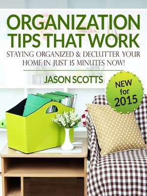 cover image of Organization Tips That Work: