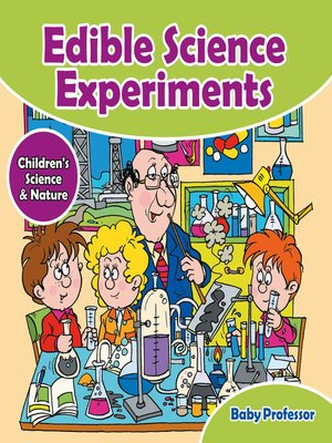 cover image of Edible Science Experiments--Children's Science & Nature