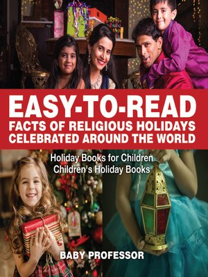 cover image of Easy-to-Read Facts of Religious Holidays Celebrated Around the World--Holiday Books for Children--Children's Holiday Books