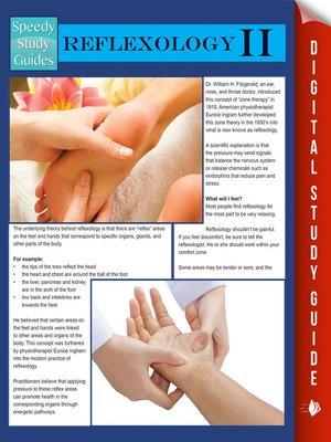 cover image of Reflexology II