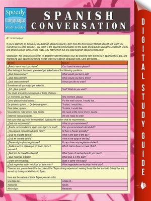 cover image of Spanish Conversation