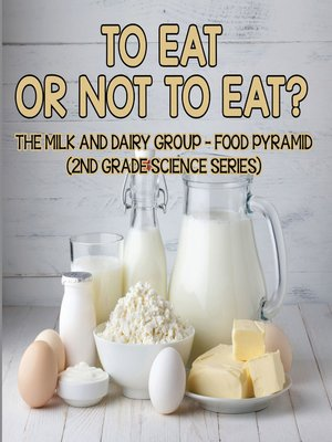 cover image of To Eat Or Not to Eat?  the Milk and Dairy Group--Food Pyramid